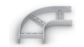 Лотки (SPLT.L.UP) и Крышки (SPLT.K.UP) секции угловой плоской 90°