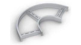Лотки (SPLT.L.WP) и Крышки (SPLT.K.WP) секции угловой плоской 135°