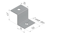 Кронштейн потолочный Z–образный (EMI.PPZ)