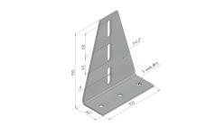Уголок универсальный пол/потолок SSN.UU для средних нагрузок